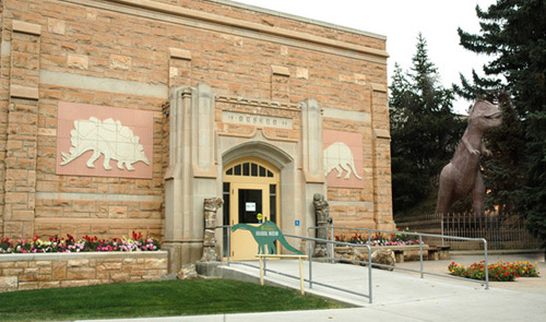 Geological Museum, University of Wyoming in Laramie